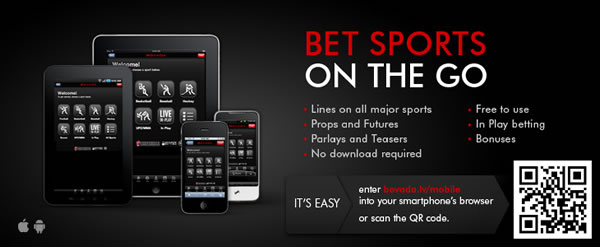 Bovada Mobile Betting App