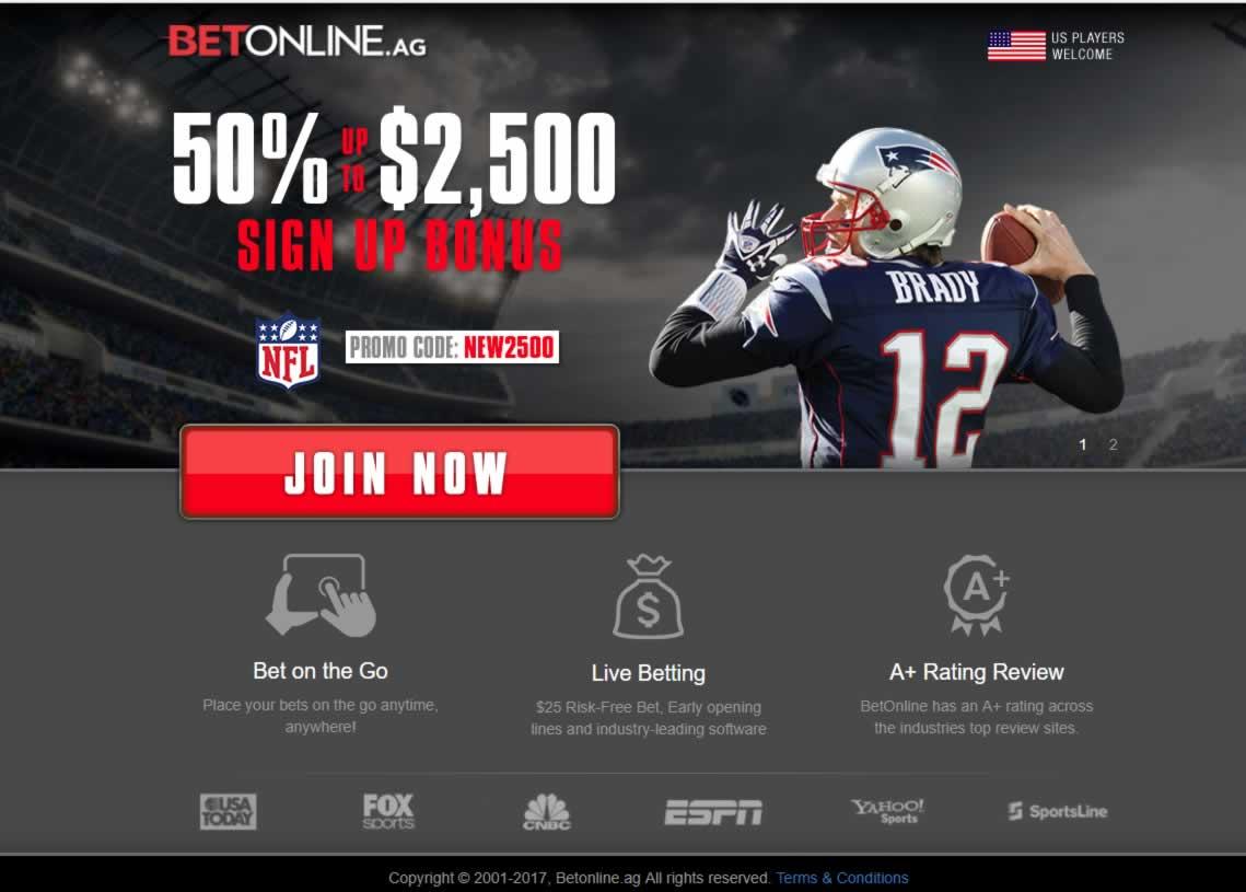 BetOnline Sportsbook Promo Codes