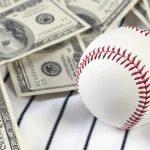 baseball and cash